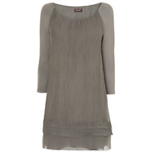 Buy Phase Eight Made in Italy Mimi Dress, Khaki Online at johnlewis.com
