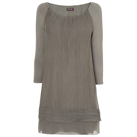 Buy Phase Eight Mimi Dress, Khaki Online at johnlewis.com
