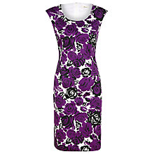 Buy Precis Petite Sateen Graphic Rise Shift Dress, Multi Online at johnlewis.com