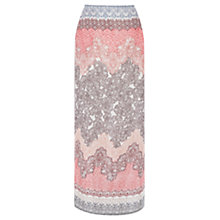 Buy Warehouse Ombre Floral Maxi Skirt, Multi Online at johnlewis.com