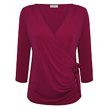 Buy Kaliko Wrap Tie Top, Pink Online at johnlewis.com