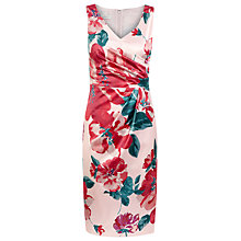 Buy Kaliko Annabelle Print Dress, Pink Online at johnlewis.com