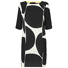 Buy Phase Eight Made in Italy Marcella Tunic Dress, Black/White Online at johnlewis.com