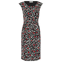 Buy Precis Petite Poppy Leaf Dress, Multi Online at johnlewis.com