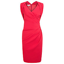 Buy Kaliko Faux Wrap Dress, Shocking Pink Online at johnlewis.com