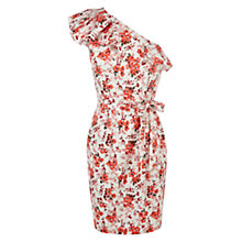 Buy Warehouse Flower Dress, Multi Online at johnlewis.com