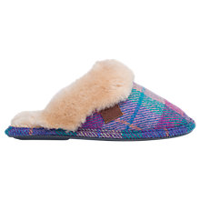 Buy Bedroom Athletics Kate Harris Tweed Mule Slippers Online at johnlewis.com