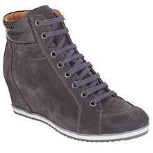Buy Geox Illusion Wedged High-Top Trainers Online at johnlewis.com