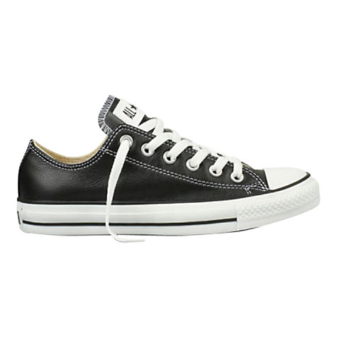 Buy Converse Chuck Taylor All Star Low Top Leather Trainers Online at johnlewis.com