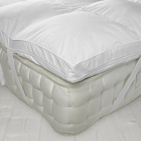 Luxury Memory Foam Mattress Topper with Microfibre