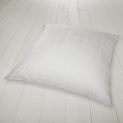 Buy John Lewis New Microfibre Square Pillow, Medium/Firm Online at johnlewis.com