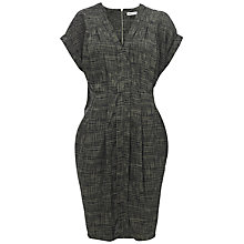 Buy Whistles Jessica Dress, Green/Multi Online at johnlewis.com