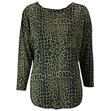 Buy Whistles Lacie Linen Twist Top, Multi Online at johnlewis.com