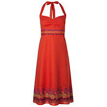 Buy White Stuff Good Natured Dress, Samurai Red Online at johnlewis.com