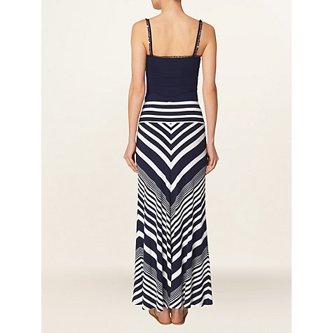 Buy Phase Eight Ellison Maxi Skirt, Ink/White Online at johnlewis.com