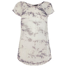 Buy Warehouse Tie Dye Embellished Top, Multi Online at johnlewis.com