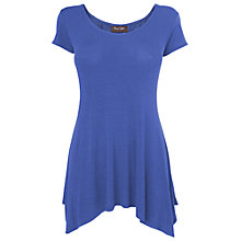 Buy Phase Eight Petal Godet Top, Lapis Online at johnlewis.com