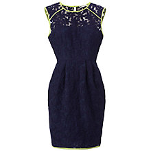 Buy Whistles Daisy Dress, Navy Online at johnlewis.com