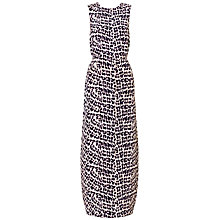 Buy Whistles Safari Print Maxi Dress, Multi Online at johnlewis.com