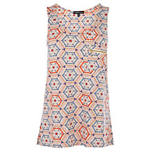 Buy Warehouse Spirograph Vest, Pink Pattern Online at johnlewis.com