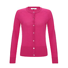 Buy COLLECTION by John Lewis Crew Neck Merino Cardigan Online at johnlewis.com