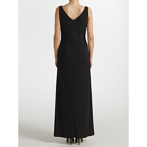 Buy John Lewis Darielle Jersey Maxi Dress, Black Online at johnlewis.com