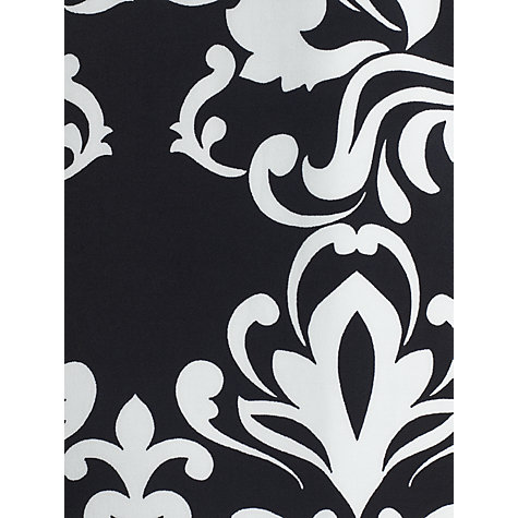 Buy COLLECTION by John Lewis Elaina Printed Tunic Dress, Black/Ivory Online at johnlewis.com