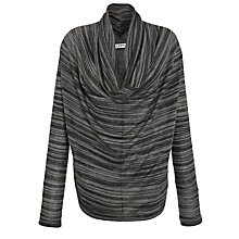 Buy Farhi by Nicole Farhi Abstract Stripe Top, Grey/Black Online at johnlewis.com