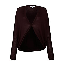 Buy Farhi by Nicole Farhi Kimono Cardigan, Oxblood Online at johnlewis.com