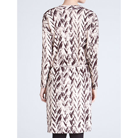 Buy Farhi by Nicole Farhi Chevron Jersey Dress Online at johnlewis.com