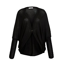 Buy Farhi by Nicole Farhi Kimono Cardigan, Black Online at johnlewis.com