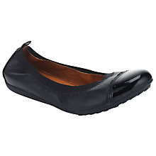 Buy Geox Donna Piuma Pumps, Black Online at johnlewis.com
