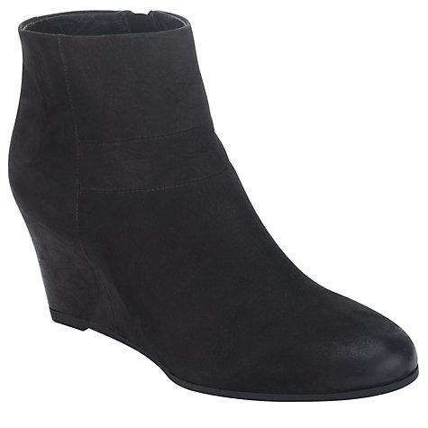 Buy Geox D Ultraviolet Ankle Boots, Black Online at johnlewis.com