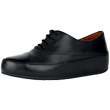 Buy FitFlop Dué Oxford lace-up Shoes Online at johnlewis.com