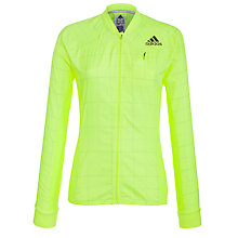 Buy Adidas Women's Supernova Long Sleeve Full Zip Running Jacket, Electricity Online at johnlewis.com