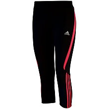 Buy Adidas Response 3/4 Length Running Tights Online at johnlewis.com