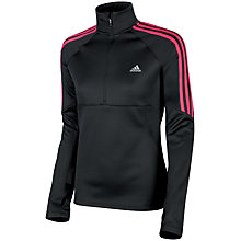 Buy Adidas Response 1/2 Zip Long Sleeve Top Online at johnlewis.com