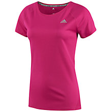 Buy Adidas Sequencials Running Short Sleeve Top Online at johnlewis.com