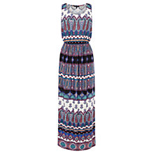 Buy Warehouse Masai Print Maxi Dress, Multi Online at johnlewis.com