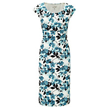 Buy CC Floral Sateen Dress, Multi Online at johnlewis.com