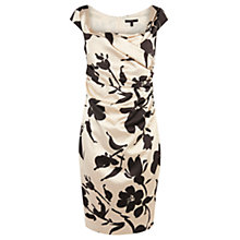 Buy Coast Alva Floral Print Dress, Mono Online at johnlewis.com