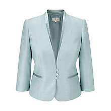 Buy CC Shantung Jacket, Sea Foam Online at johnlewis.com
