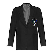 Buy Lyndon School, Solihull Girls' Blazer, Black Online at johnlewis.com