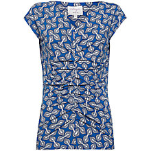 Buy allegra by Allegra Hicks Emily Butterfly Top, Tulip Blue Online at johnlewis.com