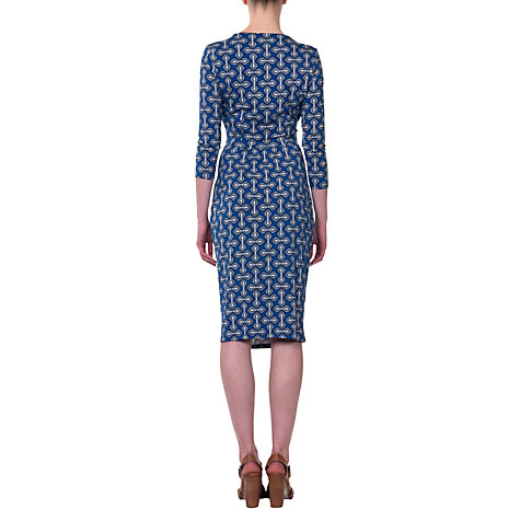 Buy allegra by Allegra Hicks Hannah Dress, Tulip Blue Online at johnlewis.com