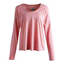 Buy Joules Whitton Long Sleeve Pyjama Top, Pink Online at johnlewis.com