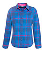 Cyberjammies Sole Statement Checked Pyjama Top, Blue