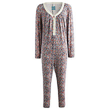 Buy Joules Puck Ditsy Floral Onesie, Multi Online at johnlewis.com