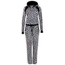 Buy DKNY Urban Strokes Animal Print Onesie, Grey Online at johnlewis.com