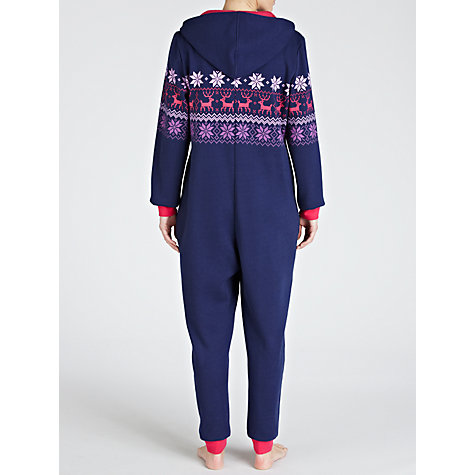 Buy John Lewis Fairisle Stripe Onesie Online at johnlewis.com